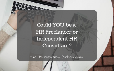 Could YOU be a HR Freelancer or Independent HR Consultant?